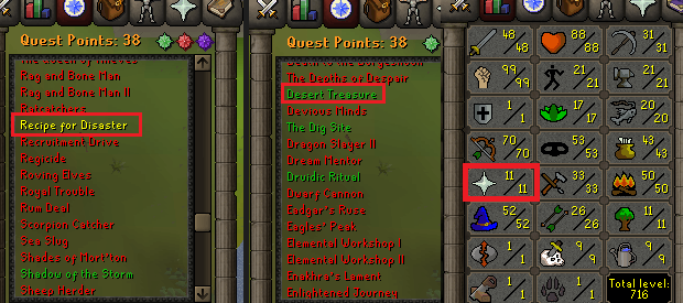 OSRS account special pure combat level 71 ID#20190423TD71C