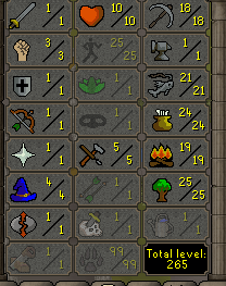 OSRS account combat level 4 ID# 20181204TD4A