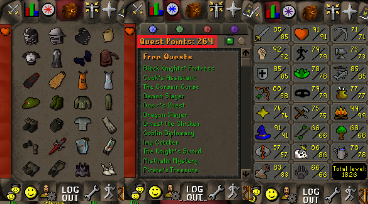 OSRS account combat level 110 ID#20190416LW110 - RuneScape