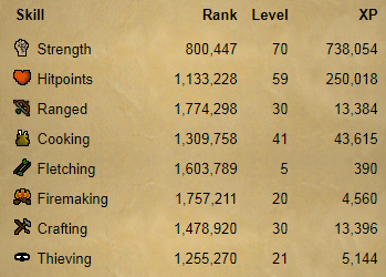 OSRS account combat level 38 ID#20181122CKJ38