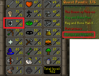 OSRS account Combat Level 72 ID#20190809TD72D best sale