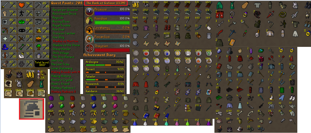 RuneScape Accounts,RS Accounts,Buying Runescape Accounts