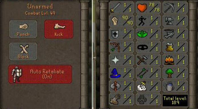 OSRS account combat level 49 ID#ACCOUNT1901 best sale