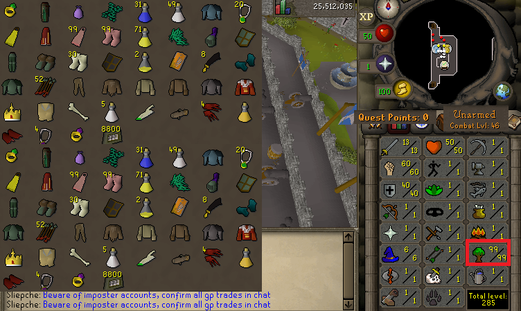 how to find old runescape accounts