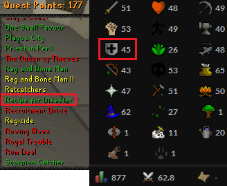 OSRS account Combat Level 62 ID#20190423TD62A best sale