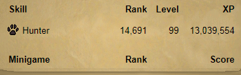OSRS account combat level 3 ID#20190216TD99H1