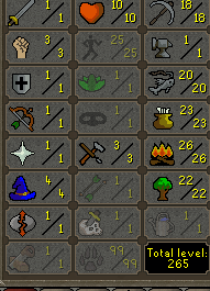 OSRS account combat level 4 ID# 20190110TD4B