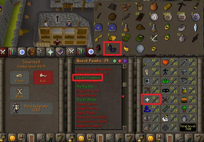 OSRS account special pure combat level 63 ID#20181111TD63B