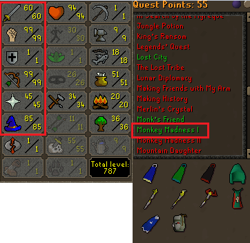 OSRS account combat level 80 ID#20191012TD80