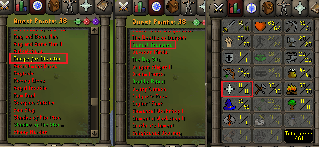 OSRS account special pure combat level 54 ID#20181211CKJ54