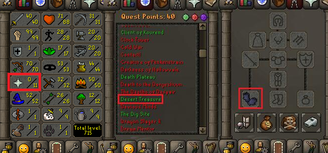 OSRS account special pure combat level 68 ID#20181230TD68B
