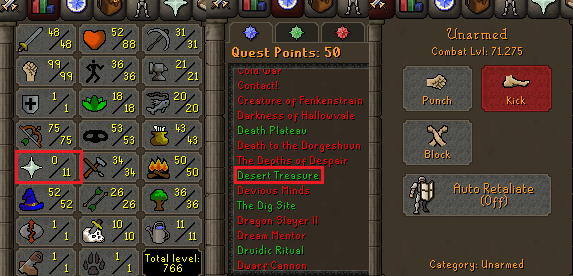 OSRS account special pure combat level 71 ID#20201111MM71A