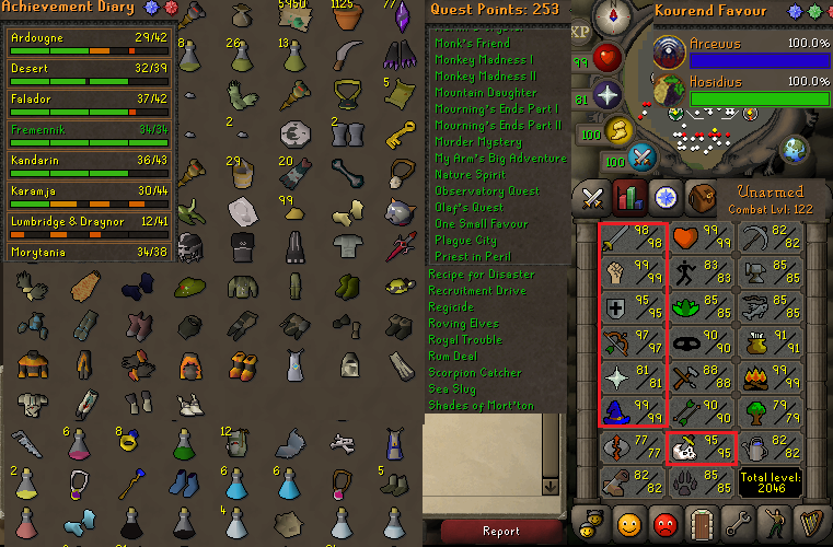 How to sell osrs account