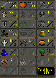 OSRS account combat level 115 ID# ACC99999999RANGED Best sale