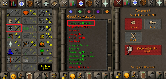 OSRS account Combat Level 60 ID#20200927TD60B best sale