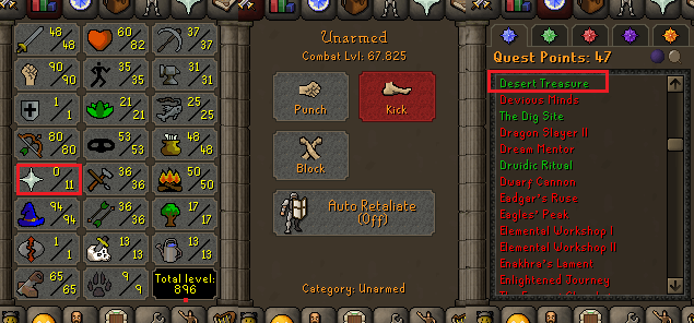 OSRS account special pure combat level 67 ID#20210330MM67B
