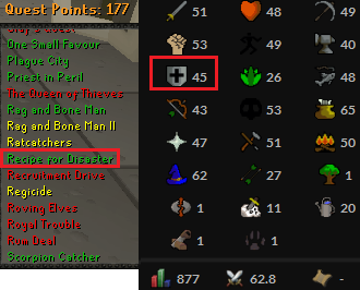 OSRS account Combat Level 62 ID#20190423TD62B best sale