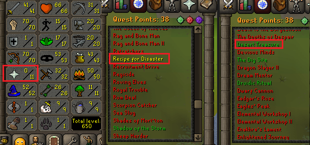 OSRS account special pure combat level 54 ID#20190613CKJ54C