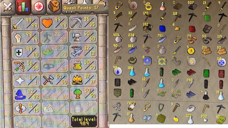OSRS account combat level 113 ID# 20200209SB113