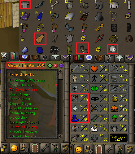 OSRS Account Combat Level 102 ID#20181111LW102 - RuneScape